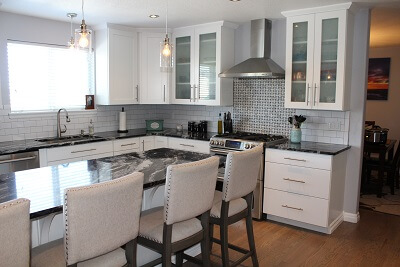 Georgeous upgrades to the kitchen with a new layout