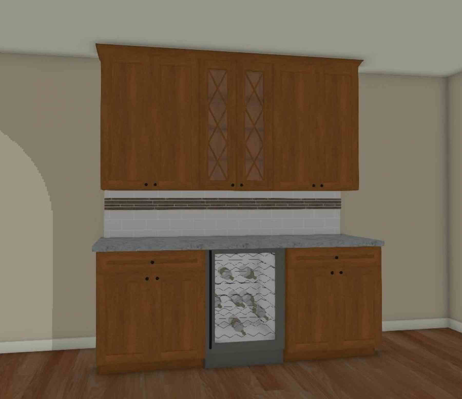 The Dining Room Buffet Rendering