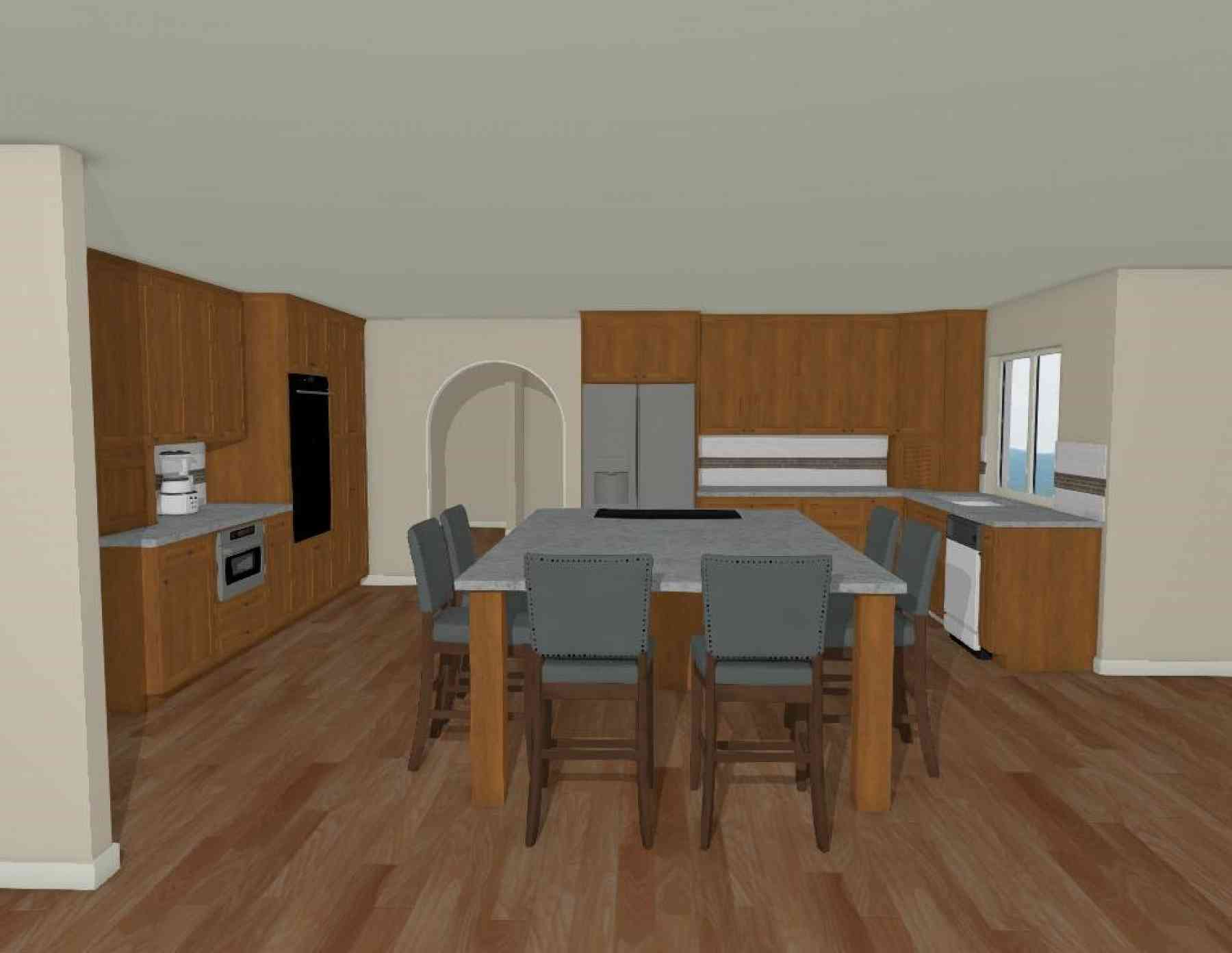 The Kitchen Rendering